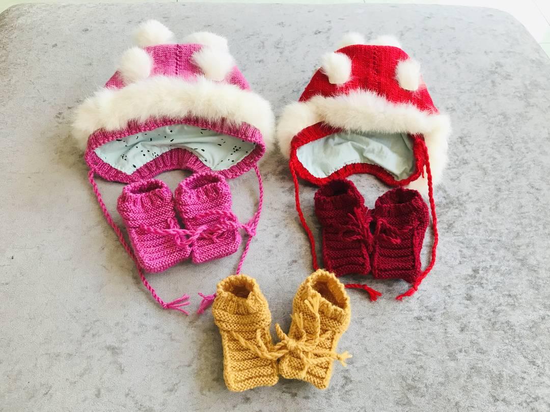 暖!6旬病人亲手做婴儿鞋帽送怀孕女医生