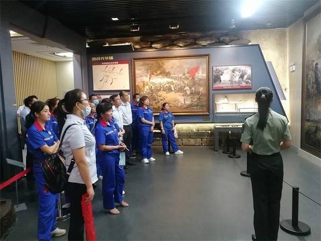 走进湘江战役纪念馆,中石化广西石油桂林全州县公司党支部加强党建活动