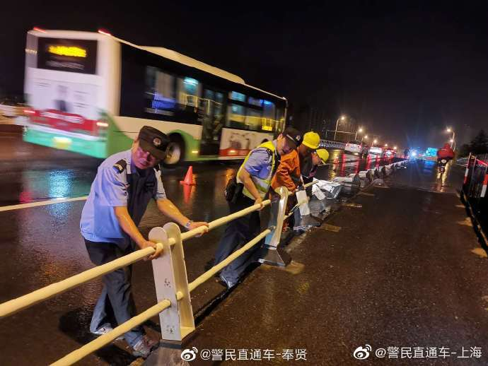台风黑格比已离上海远去,数万个坚守的身影保障城市一切安好
