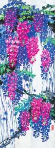 紫藤(国画)