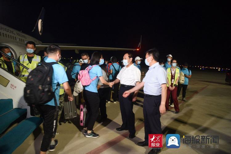 山东省第二批援疆医学检验队抵达新疆助力疫情防控