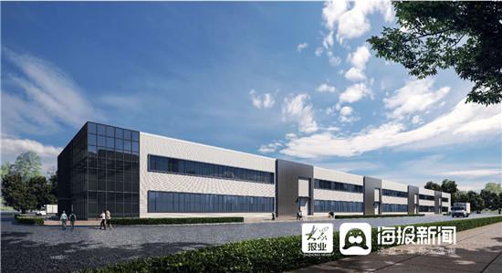 淄博高新区无机非金属材料创业园项目正式开建