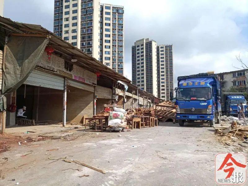 违建多年5.7万平方米!柳州这个建材市场要拆了!