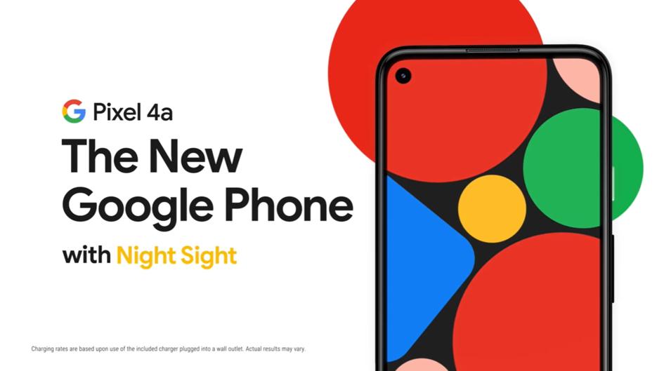 谷歌 Pixel 4a 发布,比上代便宜 50 美元