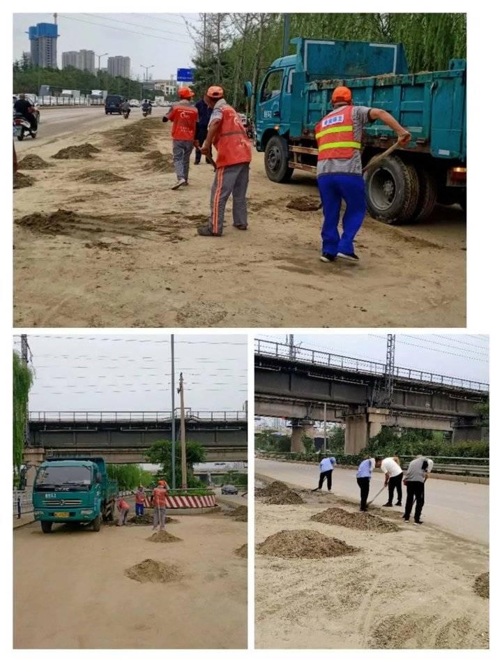 雨后清淤大行动,泰晟环境组织1900余环卫工人消除隐患保畅通