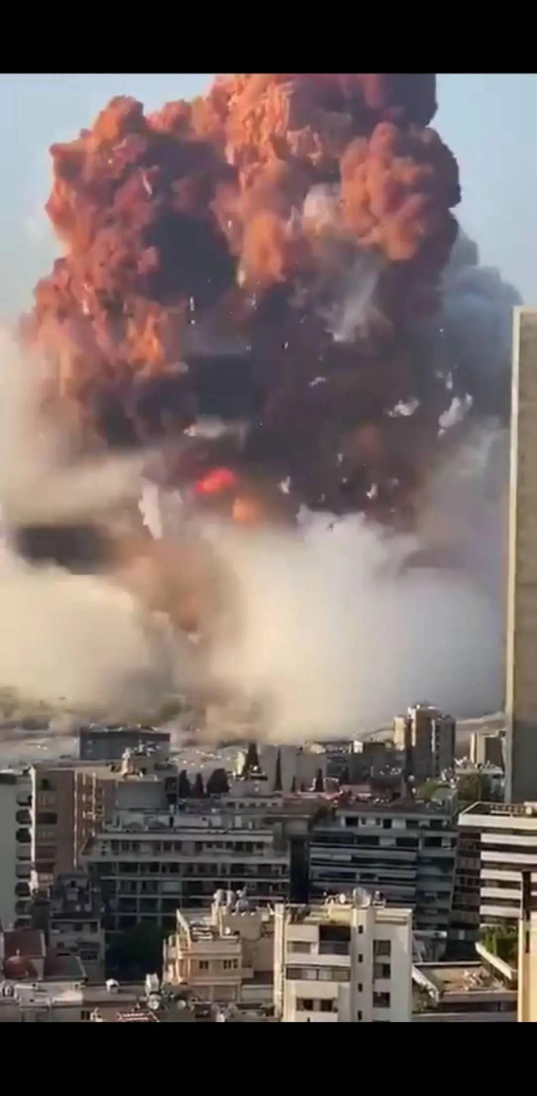 黎巴嫩首都发生巨大爆炸!超3000人伤亡!
