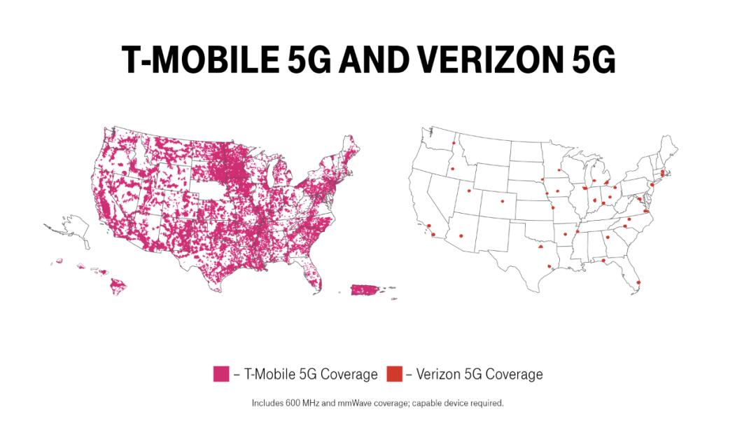 美国运营商宣布推出首个全国性5G SA网络