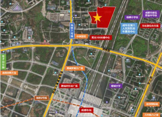 """成华区卖地:西边""""熔断""""东边流拍?三大关键词看懂"""