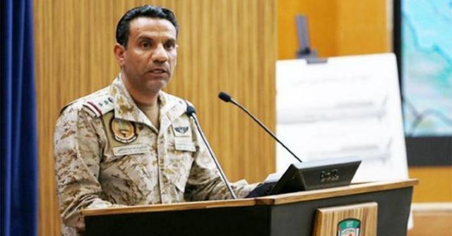 沙特为首多国联军:一架载有爆炸物的无人机在飞往沙特的途中被击落