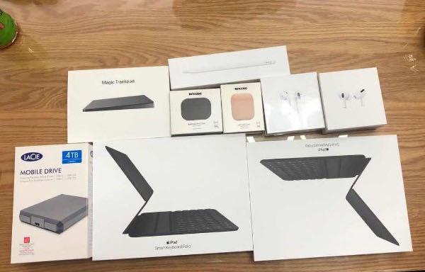 """无线耳机、平板保护壳、电子笔、手机壳、移动硬盘,这对年轻夫妻盯上了""""苹果""""专卖店……"""