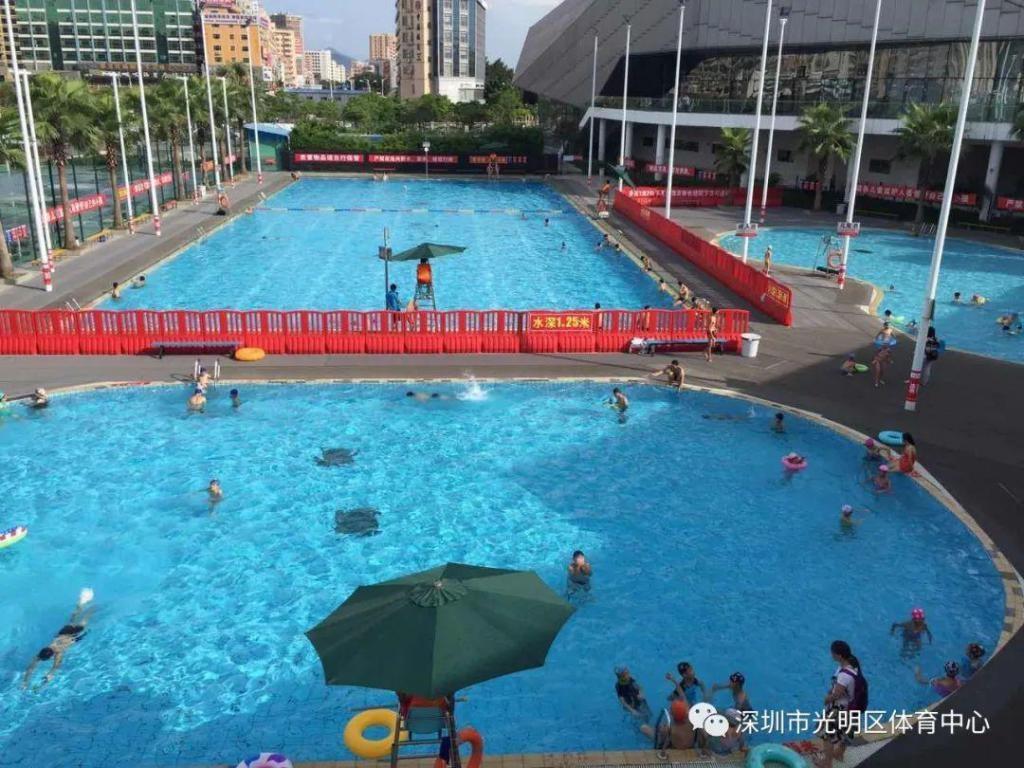 @光明人 这两个室外游泳池开放时间有调整