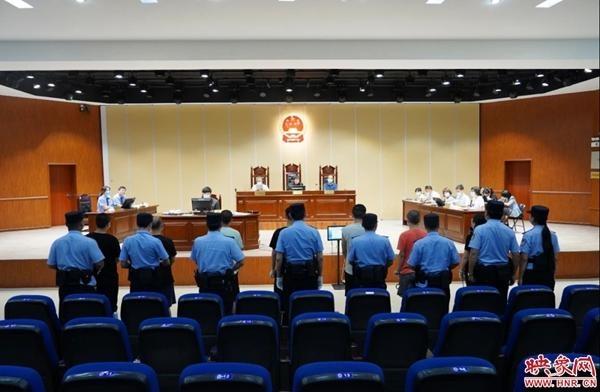 """登封市人民法院首例""""软暴力""""恶势力犯罪案件一审宣判"""