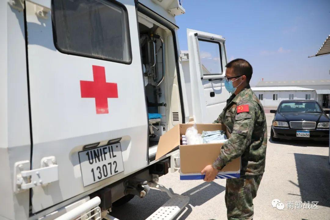 我赴黎维和医疗分队待命支援贝鲁特爆炸救助