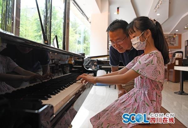 打卡成都施坦威钢琴微博物馆