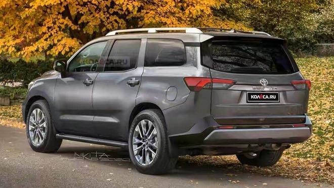 这才是丰田硬派越野SUV之选 全新红杉渲染图曝光