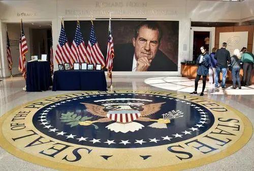 ▲资料图片:理查德·尼克松总统图书馆(新华社)