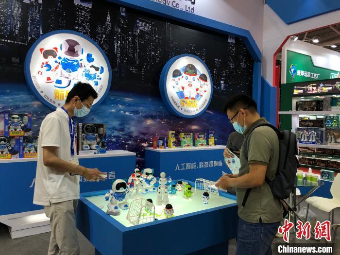 深圳国际玩具展开展 1300余家展商参展