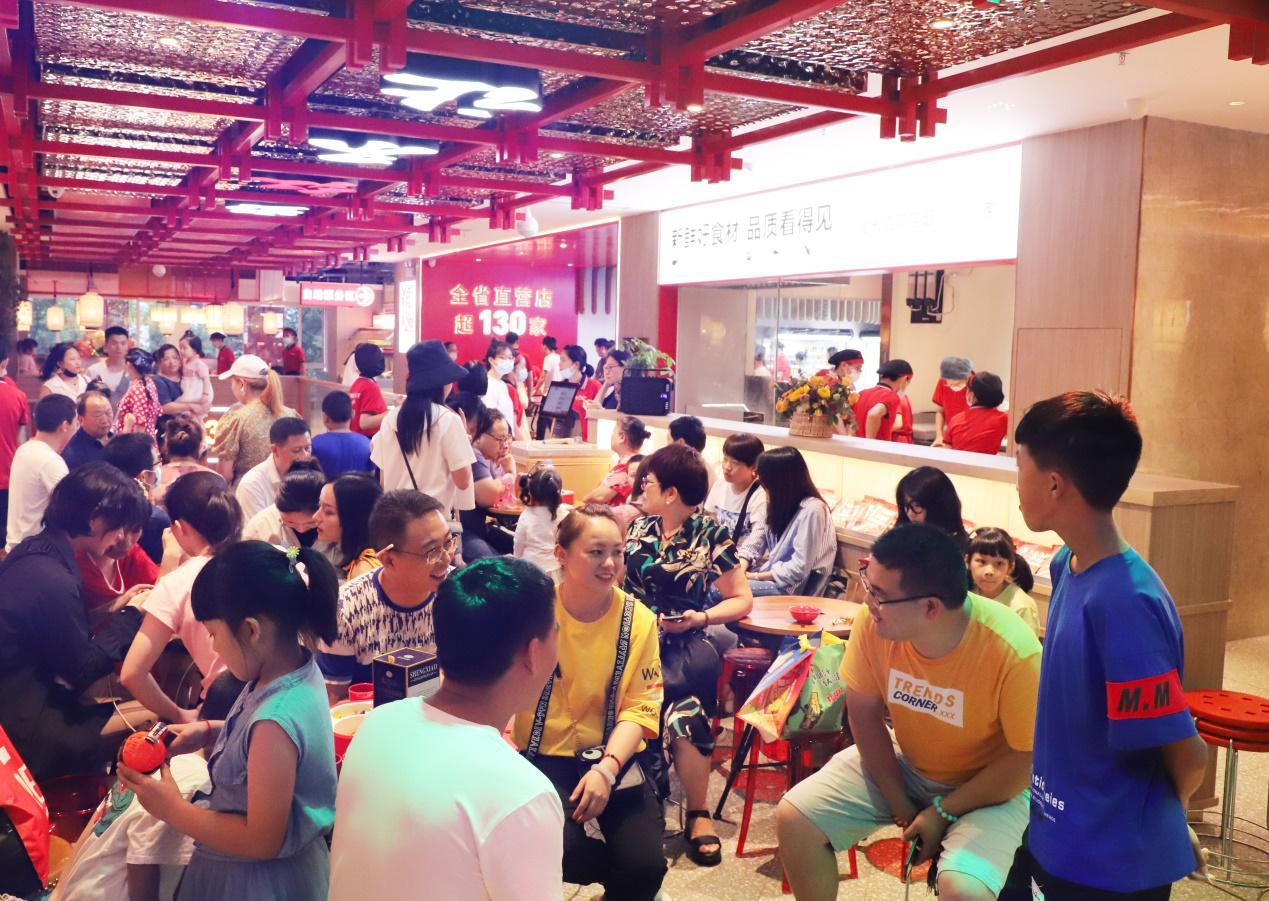 首创火锅自选超市餐厅的季季红  再次引领江西餐饮新风尚