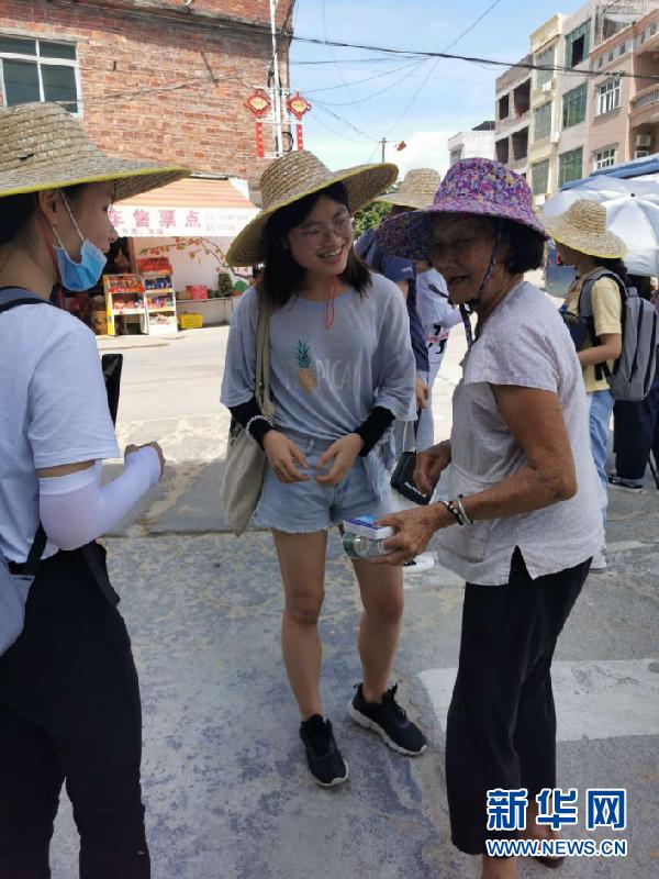 广州大学新闻与传播系师生赴梅州暑期实践