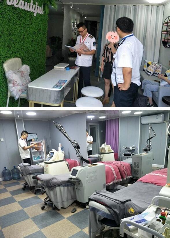 修水县卫生计生委综合监督执法局查处一非法医疗美容案(图)