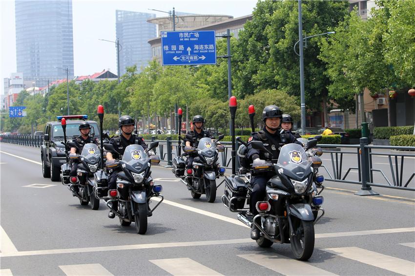 连云港警方打造千余名快速反应铁军 街面见警率、群众满意率、案件快处率大幅提升