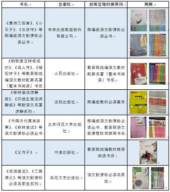 """""""新课标推荐""""成图书促销手段 教育部:涉嫌违反广告法"""