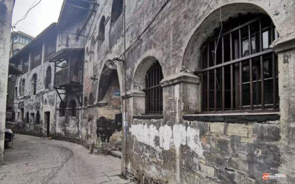 洪江古商城亚洲饭店开启恢复改造工程