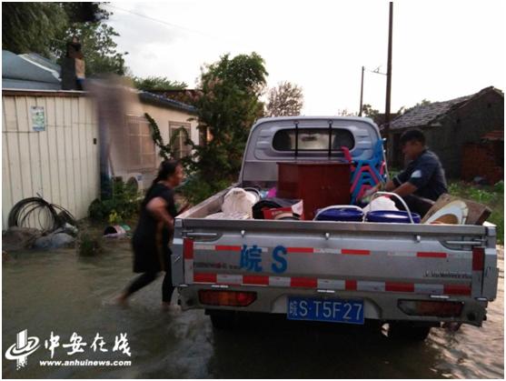 涡阳县公吉寺镇:紧急转移受灾群众 保障生命财产安全