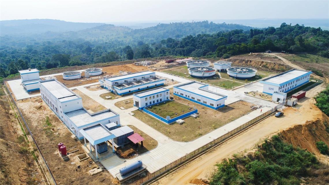 中企承建安哥拉最大供水工程入户通水