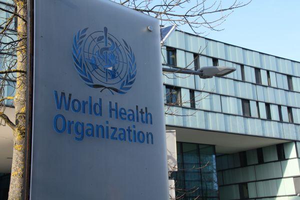 这是1月22日拍摄的位于瑞士日内瓦的世界卫生组织总部外景。(新华社)