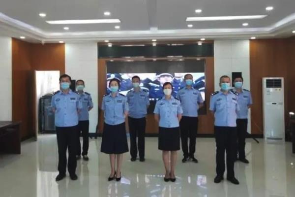 黑龙江伊春市友好区法院凝聚警心唱响《人民法院司法警察之歌》