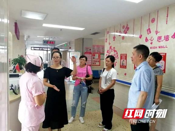 张家界:永州市零陵区妇幼保健院来桑植县参观交流