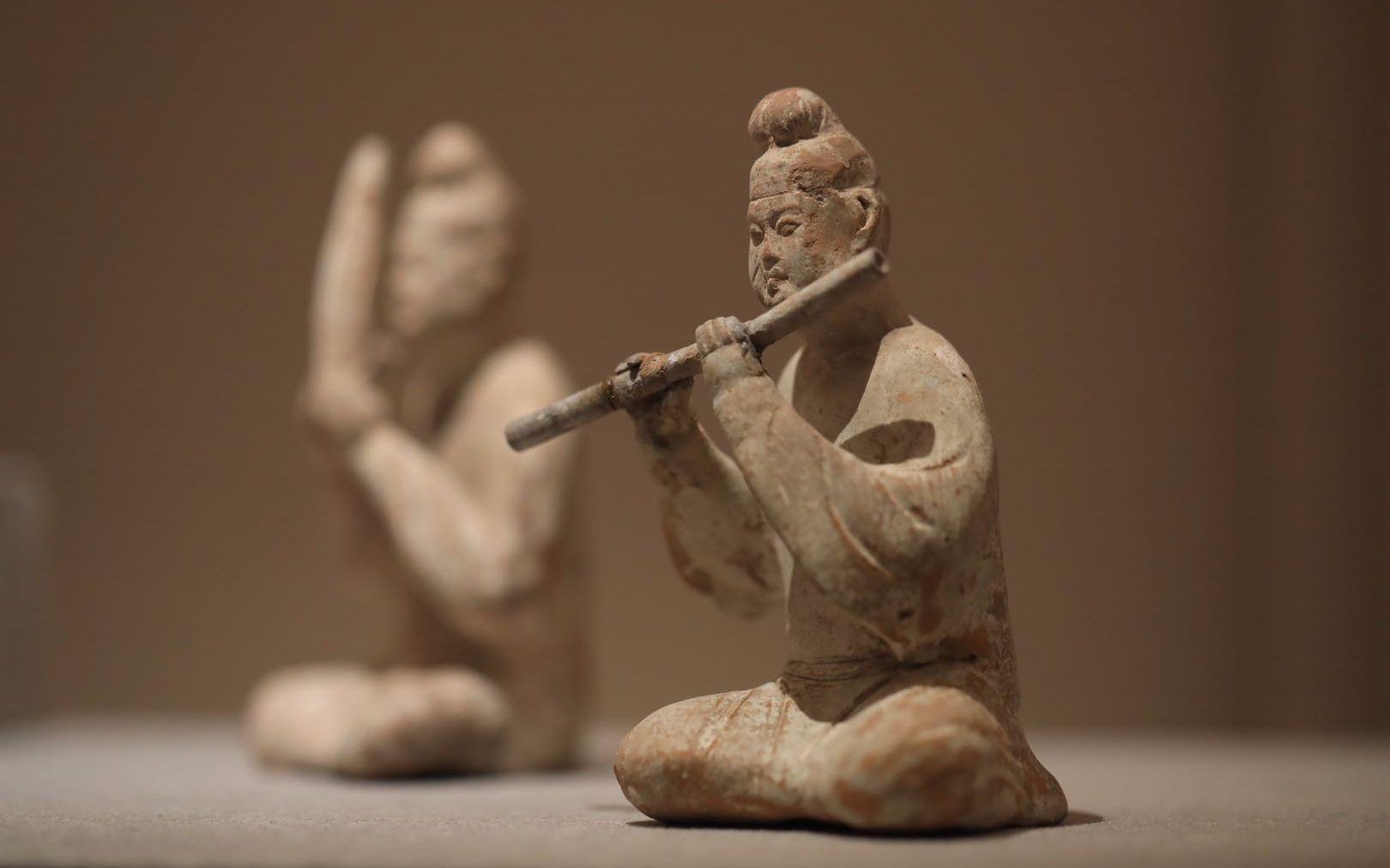 聆听上古之音 国博古乐器大展讲述八千年中华音乐史