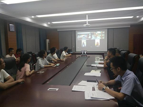 北京大学生命科学院脱贫攻坚社会实践线上汇报会在萍乡武功山召开