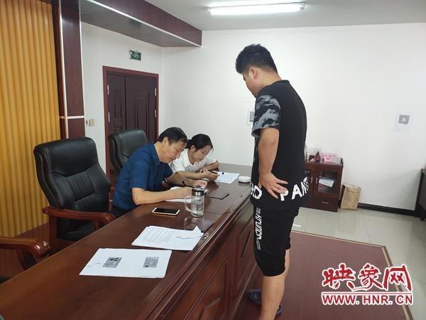 新蔡县孙召镇集中办理小额贷款助力扶贫
