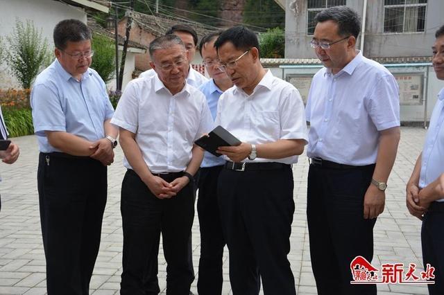 省委常委、省委组织部部长李元平来天水调研