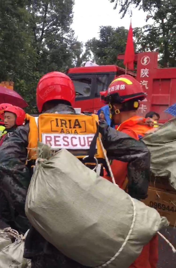 道路冲毁农作物被淹 洛南县暴雨洪涝已致75000余人受灾