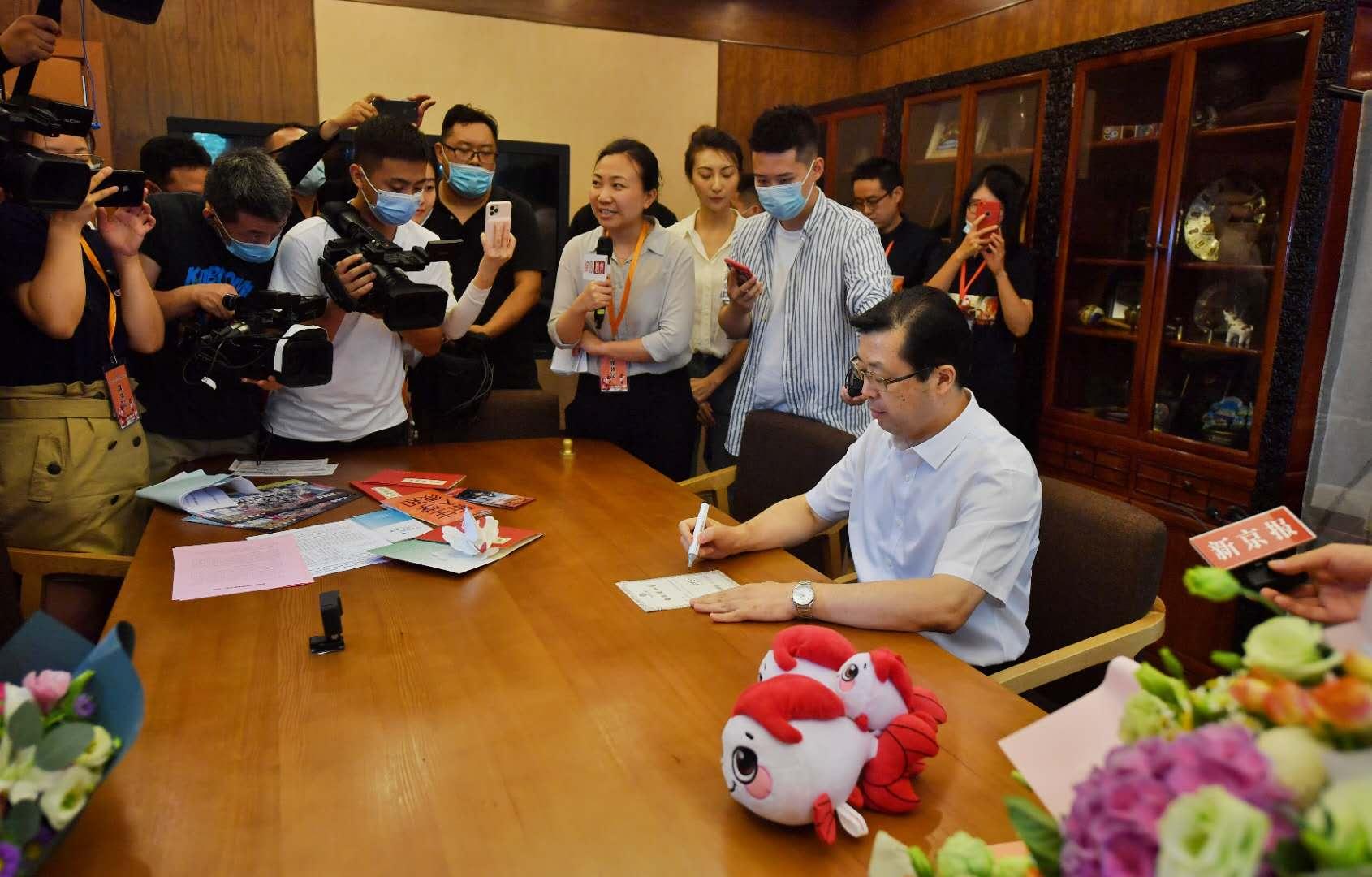 北京市2020年第一封高考普招录取通知书已从北语发出