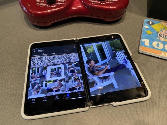 微软高管再晒Surface Duo:OneDrive已获优化