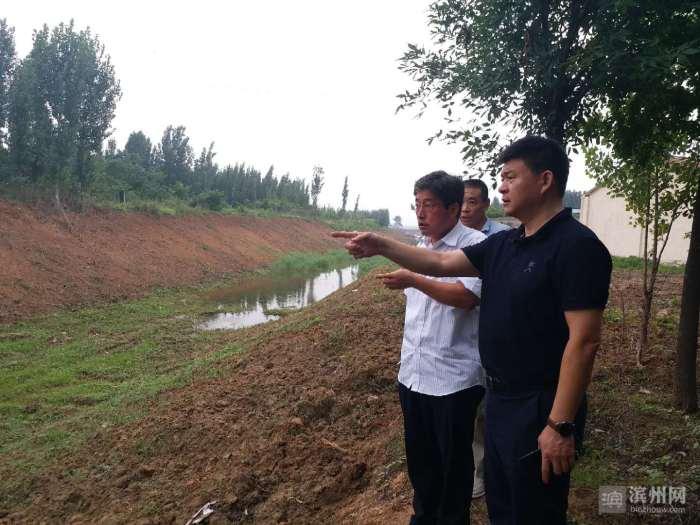 邹平长山镇最大限度畅通泄洪通道全面做好安全度汛工作