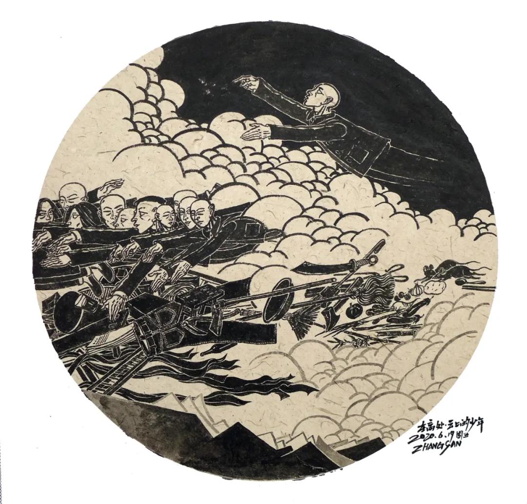 滨州市文化馆老年艺术大学结业作品展 | 自由绘画展览