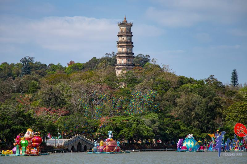 【惠州文脉·他山之石】参照桂林做法活化利用泗州塔,打造成大湾区城市中央水上休闲区