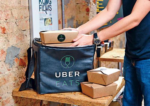 Uber外卖收入首超打车 巨头之争转换赛道