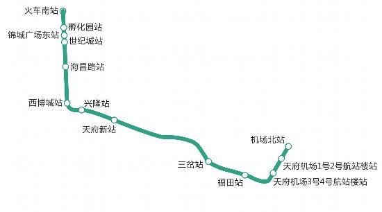 今年年底前 成都地铁线路井喷式开通
