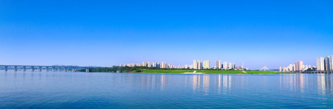 涪江两岸生态城何胜君 摄