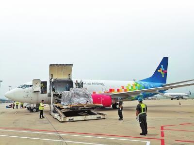 郑州至乌鲁木齐货运航线首航