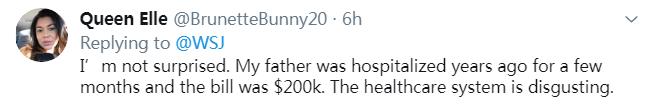 他治疗新冠肺炎账单是1881500……美元!