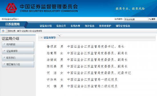 鲁颂宾任江苏证监局局长 曾撰文:道阻且长 行则将至