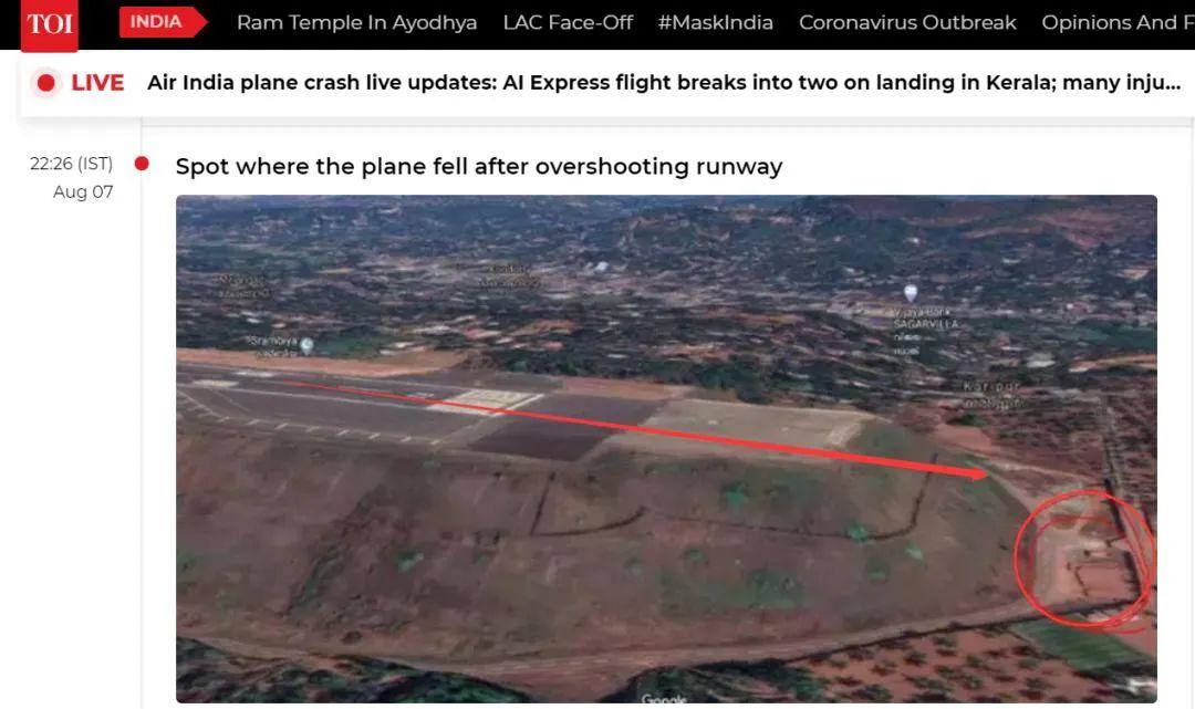 机场地形图