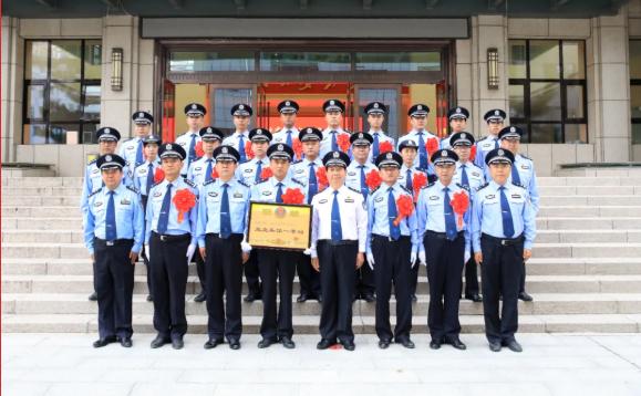 甘南州公安局专案组被公安部荣记一等功